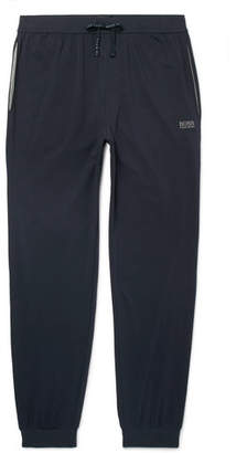 HUGO BOSS Tapered Cotton-Jersey Sweatpants