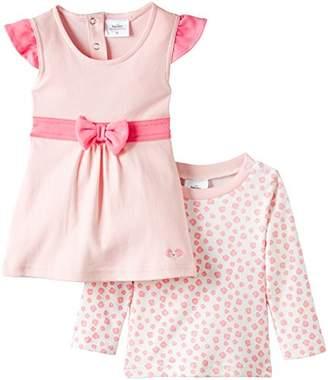 Twins Baby Girls Clothing Set, Pink (Rosé), 12-18 Months (Manufacturer size: 86)