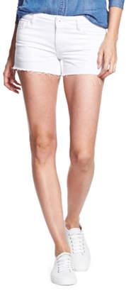 DL1961 Premium Denim Renee Cutoff Shorts, White