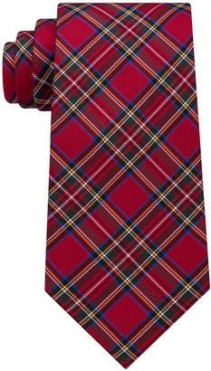Tommy Hilfiger Men's Tartan Silk Tie