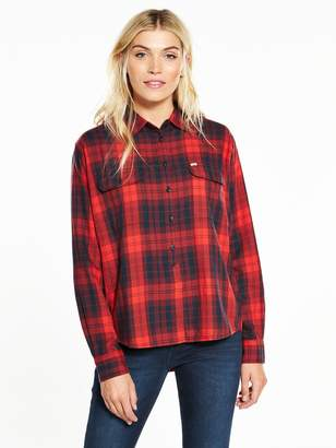 Lee Two Pocket Check Shirt