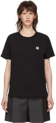 MAISON KITSUNÉ Black Fox Head T-Shirt