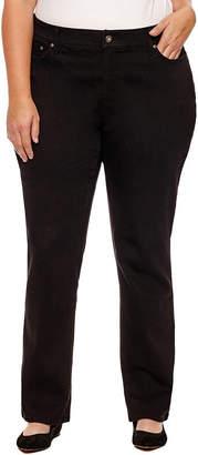 ST. JOHN'S BAY Straight Leg Jeans - Plus