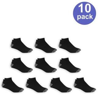 Athletic Works Men's Low Cut Socks 10 Pack