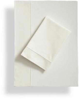 Frette One Bourdon Cotton Percale Sheet Set