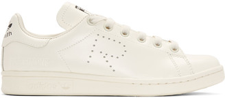 Raf Simons Off-White adidas Originals Edition Stan Smith Sneakers $395 thestylecure.com