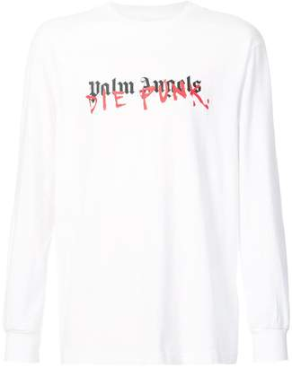 Palm Angels x Playboi Carti long sleeved logo T-shirt