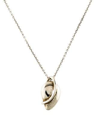 Tiffany & Co. Leaf Pendant Necklace