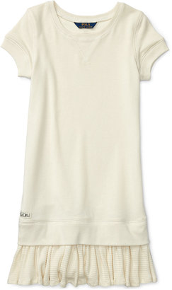 Ralph Lauren French Terry Dress, Big Girls (7-16) $59.50 thestylecure.com