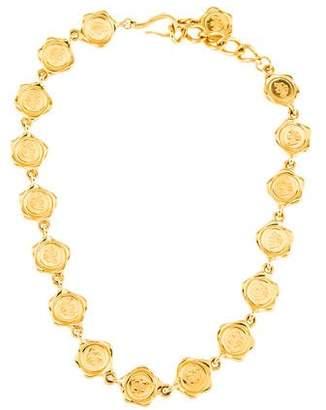 Fendi Logo Collar Necklace