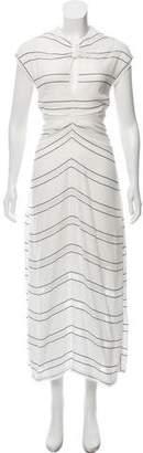 Proenza Schouler Striped Maxi Dress