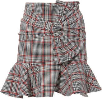 Veronica Beard Picnic Mini Skirt