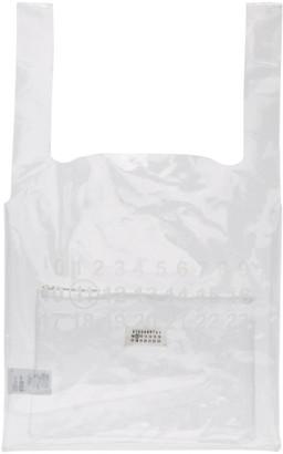 Maison Margiela Transparent Three Piece Plastic Tote