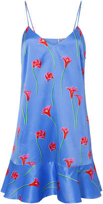 Caroline Constas Tina Floral Slip Dress
