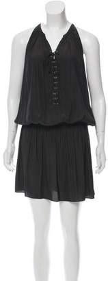 Ramy Brook Lace-Up Grommet Dress