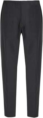Acne Studios Ari drawstring-waist wool-blend trousers
