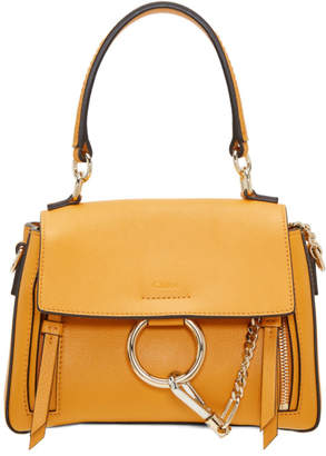 Chloé Yellow Mini Faye Day Bag