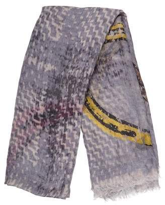 Yigal Azrouel Lightweight Patterned Scarf