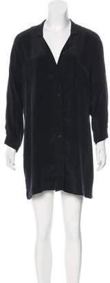 Kain Label Silk Button-Up Dress