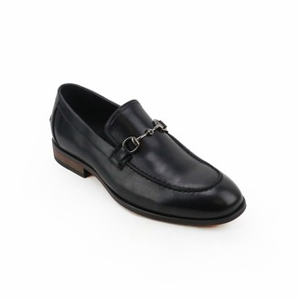 X-Ray Xray XRay Saddle Men's Dress Loafers