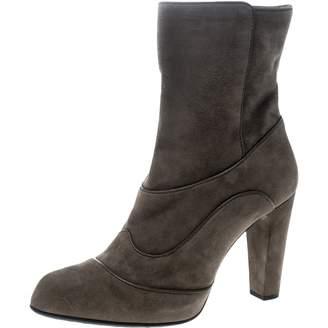 d0e65ecd3 Green Suede Ankle Boots - ShopStyle