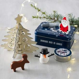 The White Company Christmas in a Tin Toy