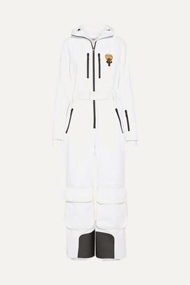Karlito Embellished Ski Suit - White