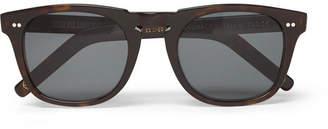 Kingsman + Cutler And Gross D-Frame Tortoiseshell Acetate Sunglasses
