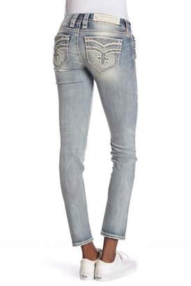 f08104542 Rock Revival Blue Women's Distressed Jeans on Sale - ShopStyle