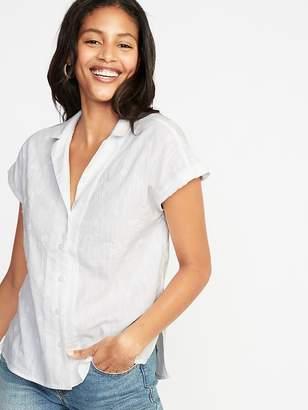 Old Navy Slub-Knit Textured Top for Women