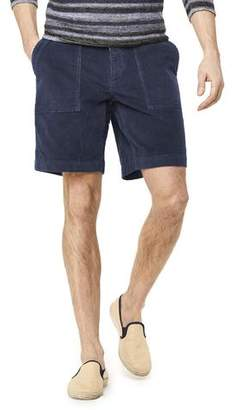 "Todd Snyder 9"" Stretch Italian Corduroy Camp Short in Navy"