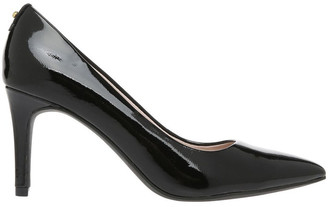 Basque Heavenly Black Patent Heel