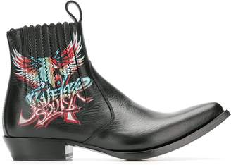 Givenchy Save Our Souls cowboy boots