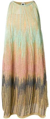 M Missoni lurex halter dress