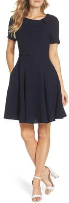 Gal Meets Glam Thea Fit & Flare Dress