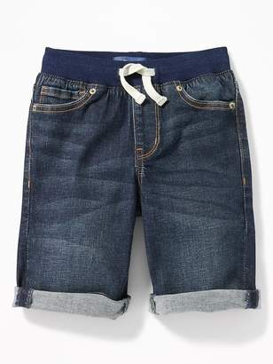 Old Navy Karate Rib-Waist Built-In Flex Max Denim Shorts for Boys