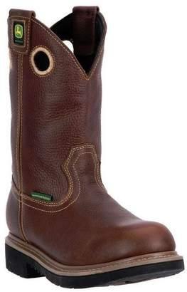 """John Deere Western Boots Mens 11"""" Waterproof ST EH 17 M JD4385"""