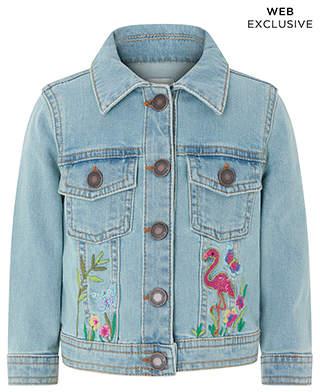 Monsoon Baby Leila Denim Jacket