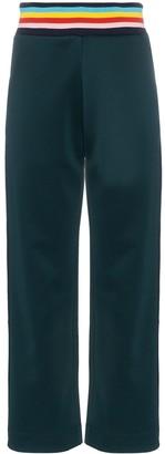 Mira Mikati multicoloured waistband track trousers