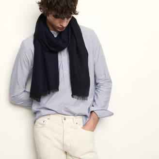Sandro Two-tone reversible scarf