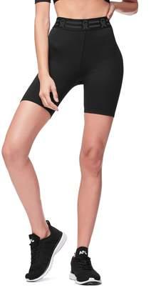 Good American Icon High Waist Biker Shorts