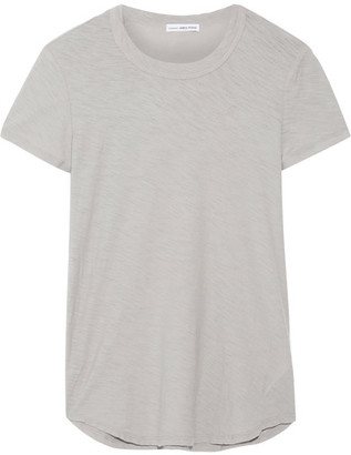 James Perse - Slub Cotton-jersey T-shirt - Stone $75 thestylecure.com