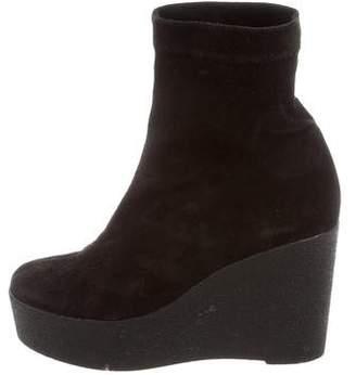 Robert Clergerie Platform Ankle Boots