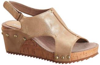 Antelope 555 Leather Wedge Sandal