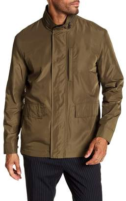 Cole Haan Packable Button Front Jacket
