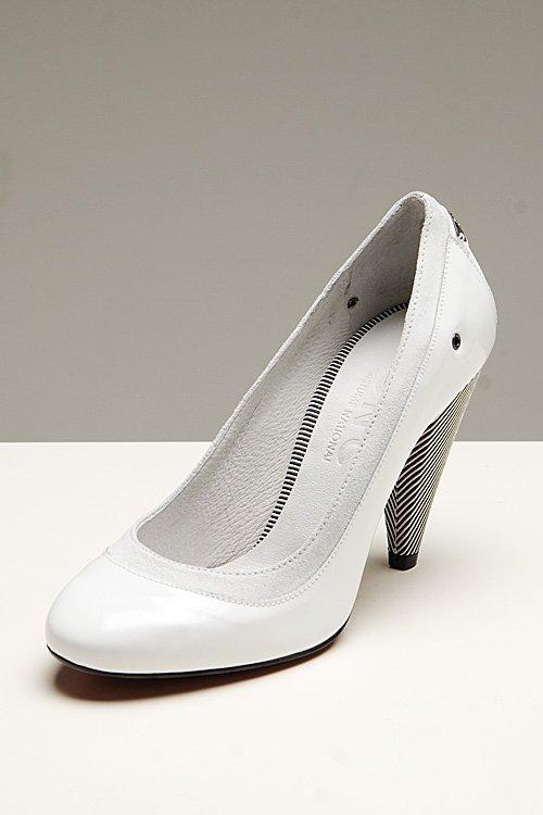 C'N'C Costume National C\'N\'C White Heels