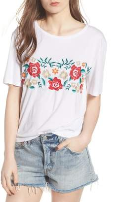 BP Floral Embroidered Tee