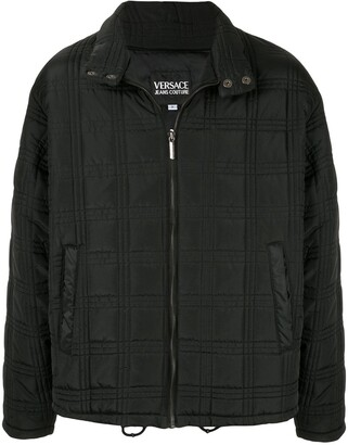 Versace Pre-Owned Medusa button zip up jacket