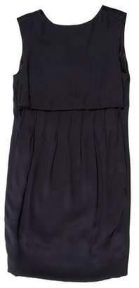 Saint Laurent Silk Sleeveless Dress