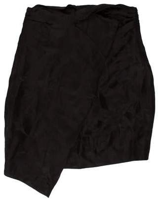 Carmen March Asymmetrical Patterned Skirt w/ Tags